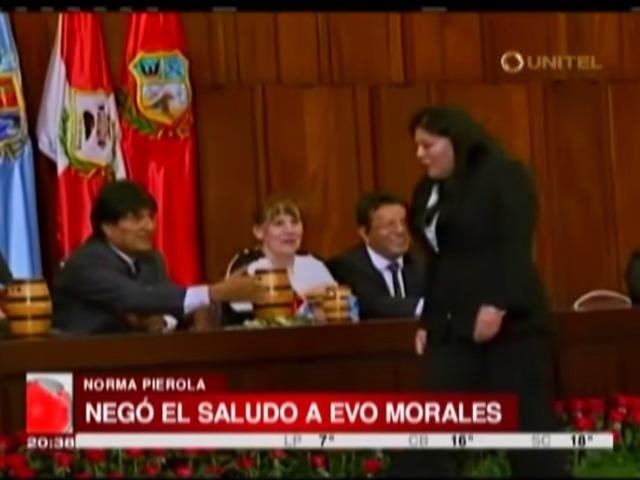 Bolivian Legislator Faces Racism Charges, Jail Time for Not Shaking Hands with President