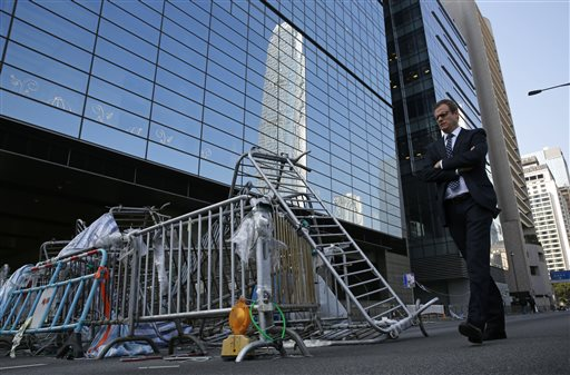 Hong Kong Police to Shut Down Protest Camp Thursday