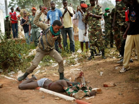 World View: Soldiers of Central African Republic Commit Gory Lynching