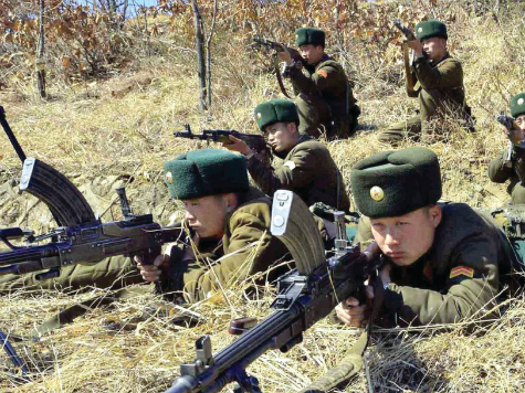 Report: North Korea Moving Tanks to Chinese Border