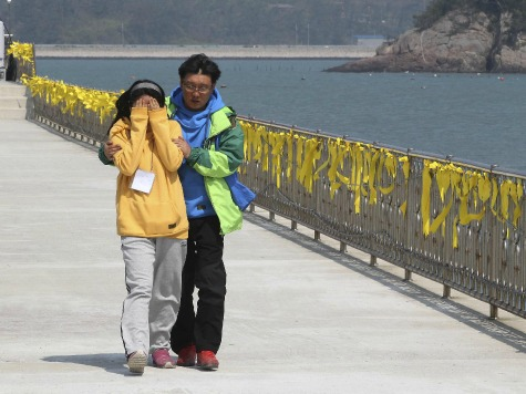 Rescue Diver Dies Looking for Bodies on Sunken South Korean Ferry