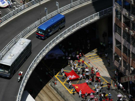 China Paying 'Demonstrators' to Counter-Protest Hong Kong Democracy Movement