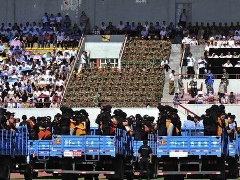 China Sentences 55 in Xinjiang Mass Trial