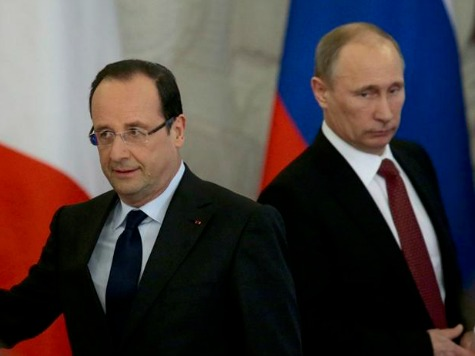 Francois Hollande Condemns Ukraine Referendums as 'Null and Void'
