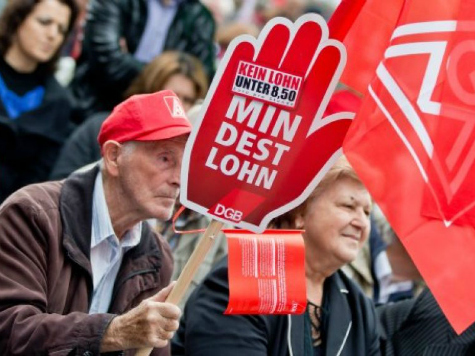 Germany Coerced into Adopting Its First Minimum Wage