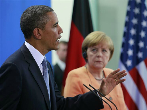 Obama, Merkel Threaten Further Sanctions Against Russia