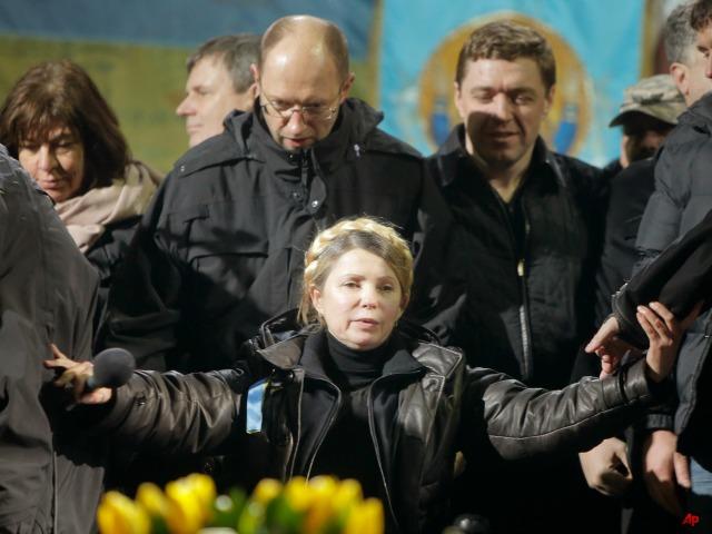 Chaos in Kiev: Yanukovych Flees, Tymoshenko Free
