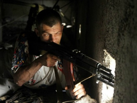 Twenty Civilians Die in Luhansk, Ukraine Day After Malaysia Flight MH17 Disaster in Donetsk