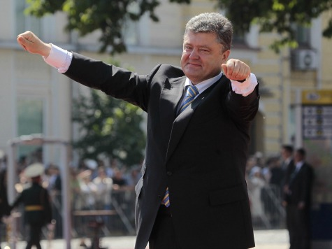 Poroshenko Says Kiev to Relook Peace Deal Flouted by Rebels