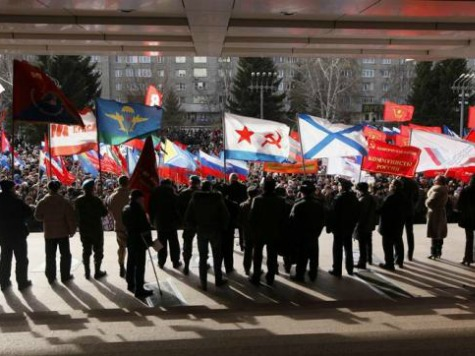 Pro-Russians in Kharkiv Announce Independence from Ukraine