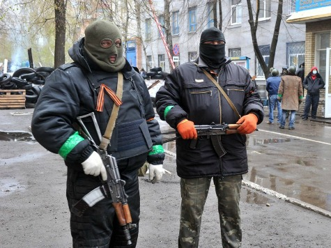 Pro-Russian Forces in Sloviansk Kidnap European Military Observers