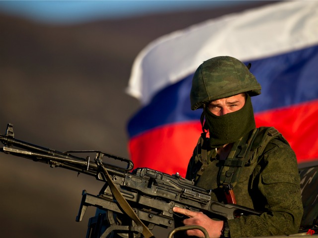 Report: Russian Forces Take Ukranian Town Outside Crimea