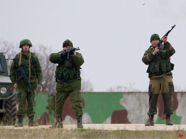 Report: Russian Troops 'Storm' Ukrainian Base in Crimea, One Dead