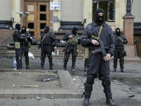 Ukraine's Security Service Claims Pro-Russians Have 60 Hostages in Luhansk