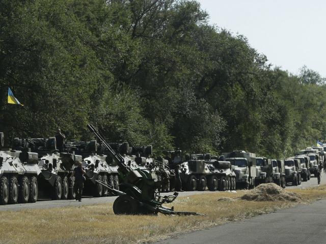 Ukrainian President Poroshenko: 'Very Close' to 'Full-Scale War' with Russia