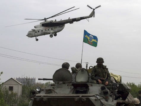 Report: At Least Four Ukrainian Soldiers Dead in Sloviansk