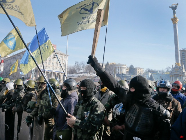 Rival Factions Clash in Ukraine's Crimea