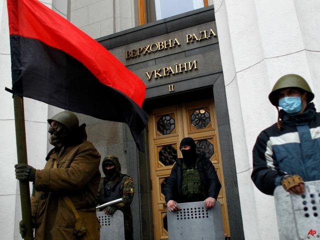 Ukraine Protesters Take Kiev, President Claims Coup
