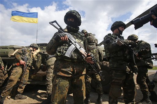 Heavy Gunfire Heard at Airport in Eastern Ukraine After Troops Move Against Pro-Russia Militia
