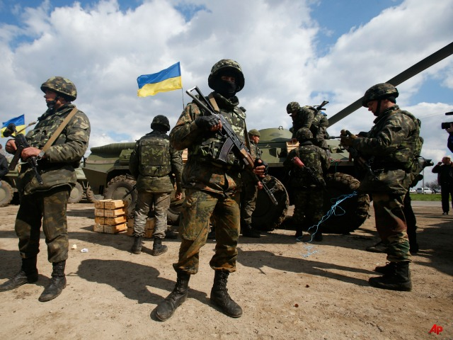 Vladimir Putin Tells Kiev to Stop Operation in East Ukraine