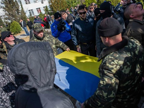 Ukraine Moves Troops Out of Crimea