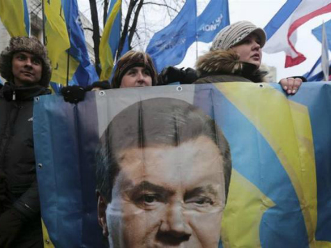 Yanukovych: Violence in Kiev Caused by 'Irresponsible Western Policies'