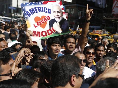 Narendra Modi Wows Crowd at Madison Square Garden