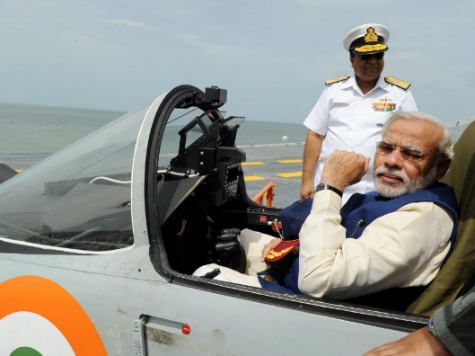 Narendra Modi Pushes Technological Advances as India Launches Its Largest Warship in History