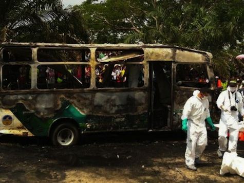31 Children Burned to Death in Colombia Bus Accident