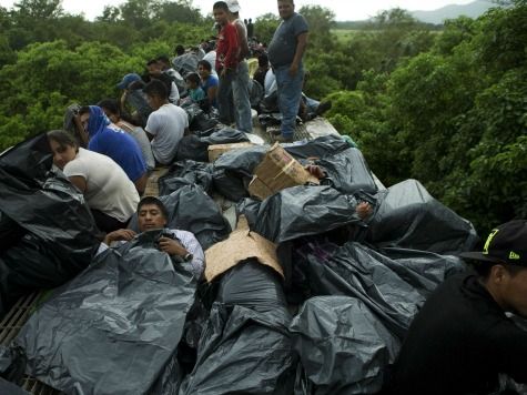 Beast Derails: 'Death Train' Strands 1,300 Migrants Making Trip to US Border