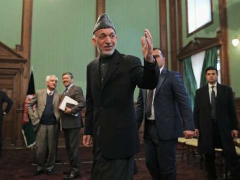 Karzai to US: Negotiate Peace with Taliban or Leave