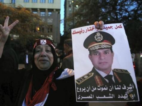 Early Poll Count Shows Egypt's Sisi Wins Overwhelming Majority