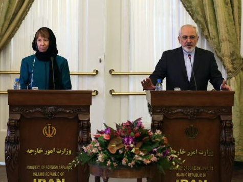 In Donning Hijab, EU's Ashton Signals Surrender to Iran