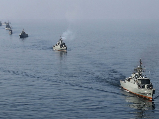 Iranian Warships Headed Toward U.S. Maritime Borders to Send 'A Message'