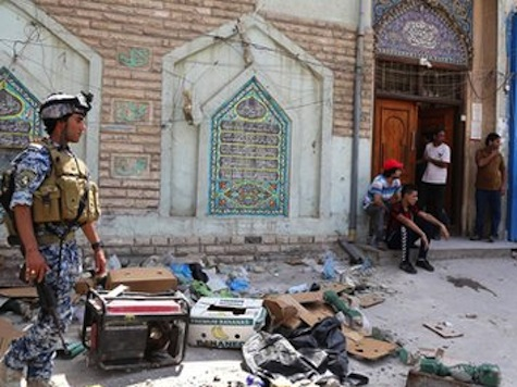 Suicide Bomber Kills 17 at Shia Mosque in Baghdad