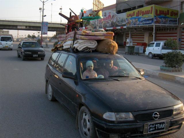 Iraqi Red Crescent: 13,000 Families Flee Fallujah