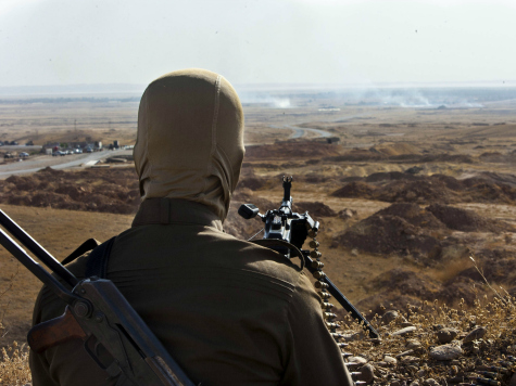 ISIS Advances Towards Kurdish Capital as Peshmerga Make Last Stand