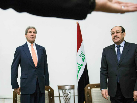 Sec. Kerry Goes to Baghdad to Deliver 'Intense' and 'Sustained' Support for Iraqis