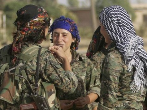 Unprecedented: Kurdish Female Suicide Bomber Attacks ISIS to Defend Key Syrian Town