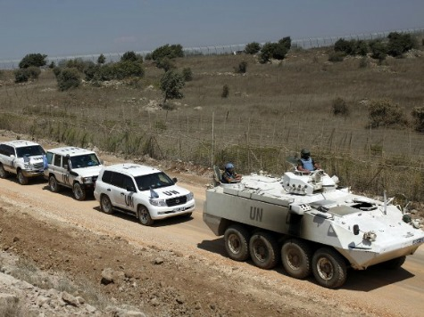 Syrian al-Qaeda Rebels Seize UN Weapons in the Golan