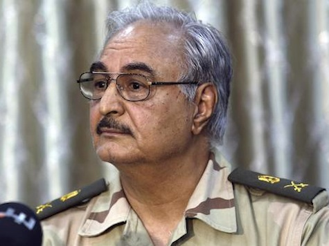 Rogue Libya General Escapes Suicide Attack at Base