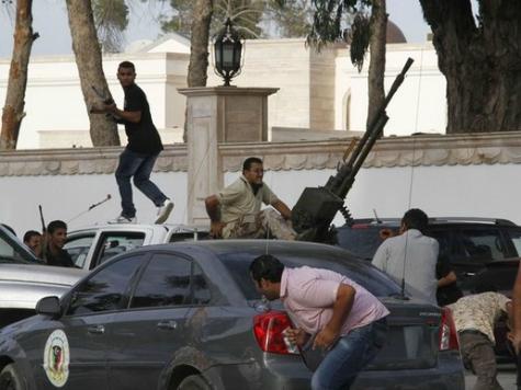 Gunmen Ransack Libya's Parliament During Vote on New Prime Minister