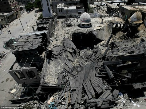 Palestinian Mosques: Arsenals or Houses of God?