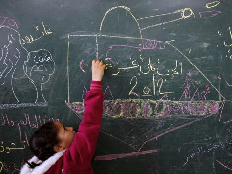 20 Rockets Found Stored at UN Children's School in Gaza