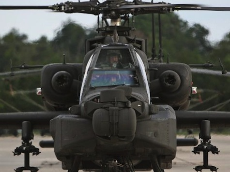 Apache Helicopter Used Against Islamic State Targets