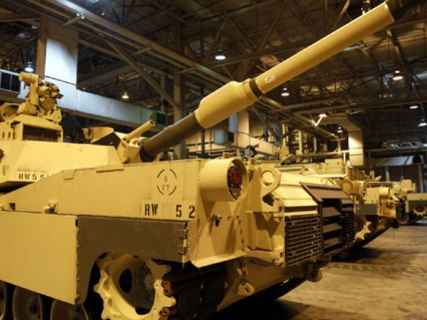 US Army Considers Stationing Tanks In Eastern Europe In 2015