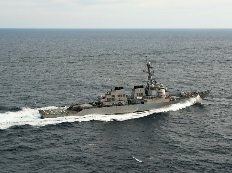 U.S. Dispatches Destroyer To Black Sea As Tensions Between Ukraine, Russia Continue