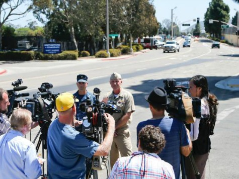 Naval Base Point Loma Locked Down over Two 'Airsoft-Style' Pellet Guns