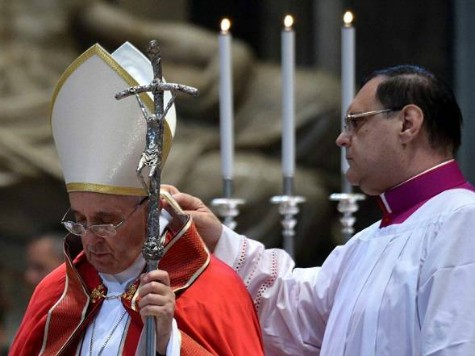 Is Pope Francis at War with the Vatican Itself?