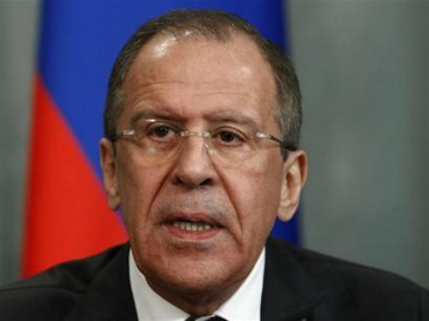 Russian Foreign Minister: This is as Close to a Civil War as You Can Get